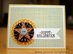 Happy Halloween...but the design could be used for any occasion!