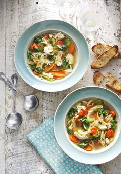 Lemony Chicken and Dill SoupDelish