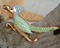 Vintage Roadrunner Brooch $42.95: