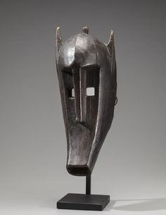 Bamana Hyena Mask for the Kore Society, Mali