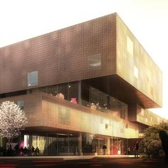 Copenhagen Culture House   Library by COBE and Transform
