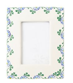 Picture Frame Clover Irish Pottery, Pottery Making, Picture Frames, Wedding Gifts, Ireland, Gift Ideas, Glass, Pictures, Crafts