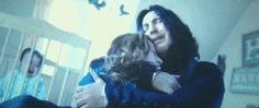 Snape discovers Lily's death.