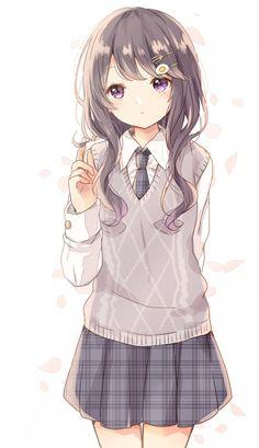 Manga Kawaii, Manga Anime Girl, Cute Anime Chibi, Anime Girl Drawings, Cute Anime Pics, Anime Neko, Anime Artwork, Kawaii Anime Girl, Anime Girls