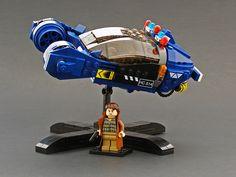 Blade Runner spinner in LEGO