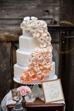 Rustic Peach Wedding  |  allure photography Keywords: #weddings #jevelweddingplanning Follow Us: www.jevelweddingplanning.com  www.facebook.com/jevelweddingplanning/