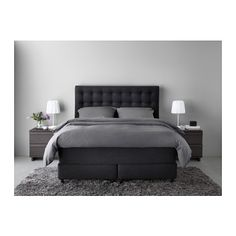 Boxspringbett ikea 180x200  Das neue VALLAVIK Boxspringbett | Houses | Pinterest | Bedrooms ...