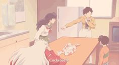 I think you may have over done it inuyasha.... (gif)