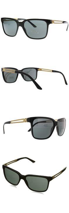 9a9557a9e574 Amazon.com: VE4307 58, Blk, Gry: Clothing. Versace SunglassesSunglasses  Women