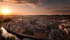 The City of Namur , Belgium by Patrick Van Gelder on 500px