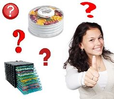 How to Buy a Food Dehydrator Part 2: Types Of Food Dehydrators - Part 2 of this awesome buying guide!