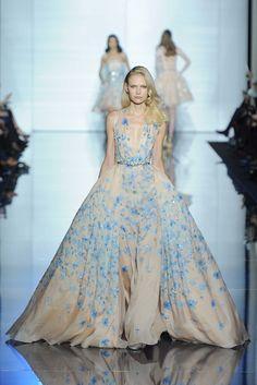 Zuhair Murad Spring 2015 Couture Fashion Show - Henna Lintukangas