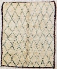 Beni Ouarain virgin wool rug... I want this
