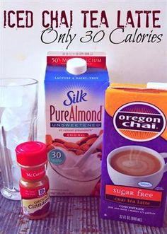 Undressed Skeleton - 30 Calorie Iced Chai Tea Latte