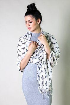 Anika Dali Bella Doxie Dachshund Dog Scarf, Animal Lover Shawl (Emerald) at Amazon Women's Clothing store:sale christmas birthday gift Fashion Scarves, formal, dressy scarves, pashmina shawls, shawls, wraps, cute, pretty, unique scarves, holiday scarf, holiday gifts for women, affordable, versatile shawls, designer scarves, stylish, modern, trendy, infinity circle loop shawls, sexy cute infinity scarves