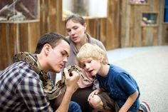 Get hands on at Joseph Moore Museum! Touch a live snake, explore insects, touch whale vertebrae and more!