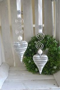 Rita - Welcome Victorian Christmas Decorations, Sewn Christmas Ornaments, Christmas Crafts, Valentines Bricolage, Valentines Diy, Crafts To Make And Sell, Diy And Crafts, Heart Crafts, Hanging Hearts