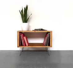 Stanton Small 100cm / X-Small 80cm Record Player TV Stand with