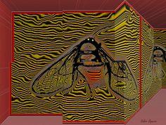 https://flic.kr/p/vwyK5K   Espaço tridimensional com mariposa estilizada