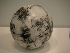 Carola Bravo. Moon Map Sphere