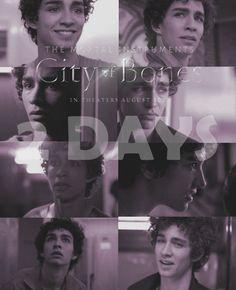 City of Bones shooting countdown:2days!