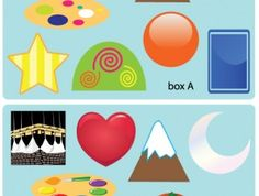 Shapes Sticker Activity Book | The Muslim Sticker Company