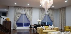 Drapes with Blackout lining and Tie Backs - Majestic Curtains and Blinds Silk Drapes, Curtains With Blinds, Made To Measure Curtains, Custom Drapes, House Windows, Modern Design, Tie Backs, Luxury, Interior