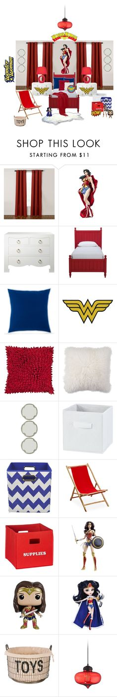 """Wonder Woman Room...."" by enid23 on Polyvore featuring interior, interiors, interior design, home, home decor, interior decorating, Bungalow 5, Ethan Allen, Southern Tide and Décor 140"