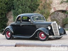 Homebuilt 1935 Ford Five Window Coupe