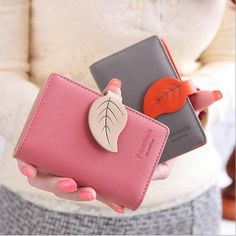 Cheap leather credit card holder, Buy Quality credit card holder directly from China passport cover Suppliers: 20 Card leaf vintage women female ladies short thin organizador leather business credit card holder passport cover  40