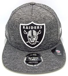 Oakland RAIDERS City Sided Snapback Cap Hat NFL NEW ERA 9FIFTY OSFM New   NewEra  OaklandRaiders 896c581c0f9