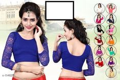Checkout this latest Blouses Product Name: *Ethnic Cotton Lycra Blouse* Fabric: Cotton Lycra  Size: Up To 28 in To 36 in ( Free Size ) Type: Stitched Description: It Has 1 Piece Of Blouse  Work: Lace Work Country of Origin: India Easy Returns Available In Case Of Any Issue   Catalog Rating: ★4.2 (10234)  Catalog Name: Ethnic Cotton Lycra Hosiery Blouse Vol 1 Readymade Blouse CatalogID_142400 C74-SC1007 Code: 332-1146276-564