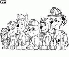 paw-patrol3 - kids | pinterest - minions, kleurplaten en zoeken