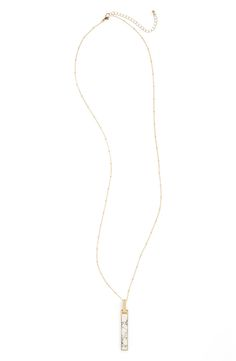 BP. Bar Pendant Necklace available at #Nordstrom