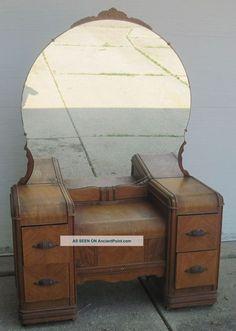 Antique Vanity Dressing Table 1900-1950 photo   vanity s ...