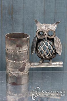 STC Scrap Sculptures 2013 - The Horned Owl