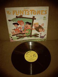 The Flintstones, 1972 LP, Peter Pan Record 8105