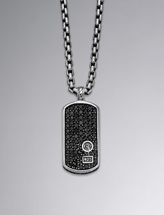 David Yurman Amulet Necklace Black Onyx Brown Co Jewelers