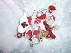 Nurse bracelet by BeadieBracelet on Etsy. Cute!
