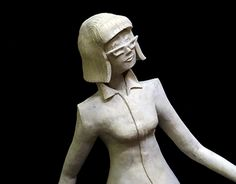 Clay modelling character design I created based on a pre-written character description of another classmate during my year at Art College Character Description, New Work, Character Design, Behance, Illustrations, Statue, Gallery, Check, Art