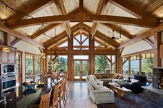 post and beam homes | Post Beam (6 images)