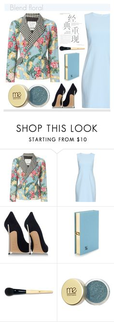 """""""FLORAL JACKETS"""" by soleuza ❤ liked on Polyvore featuring Moschino, Diane Von Furstenberg, Casadei, Olympia Le-Tan, Bobbi Brown Cosmetics and Mineral Essence"""
