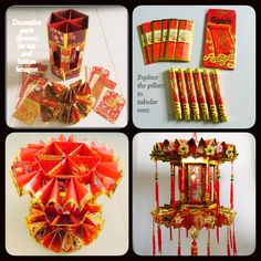 CNY lanterns (2015). First time using the unused angpow collected over the years.