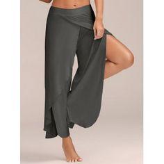 GET $50 NOW | Join Dresslily: Get YOUR $50 NOW!https://m.dresslily.com/high-slit-flowy-layered-wide-leg-pants-product2045490.html?seid=4K8GlSdpn91U7G9rUKCfn08t3G