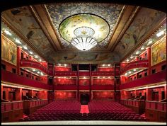 Sureyya Opera House Interior - Istanbul