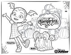 Free printable Vampirina coloring pages