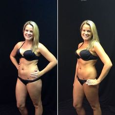 Spray Tan Before and After, by Paula Tripp using City Tan Honolulu
