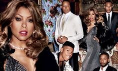 The cast of Empire conquer the fashion world in a Vogue shoot
