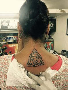Irish triquetra done by lil greg lake geneva tattoo in for Lake geneva tattoo