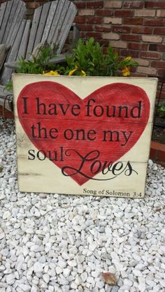 Song of Solomon/Designs by Vena- hand painted wooden signs www.facebook.com / DesignsbyVena